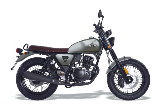 WK SCRAMBLER 125 LEARNER LEGAL 125cc motorcycle